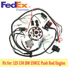 Stator CDI Coil Electric Wiring Harness Wire Kit For Motorcycle ATV 125-150cc