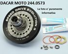 244.0573 SET PULLEY ALUMINUM POLINI APRILIA SR 50 R-FACTORY (Engine Piaggio)