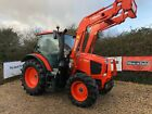 KUBOTA M95GX TRACTOR WITH LOADER 95HP