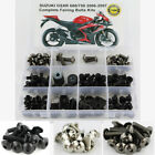 For Suzuki 2006-2007 GSX-R600 GSX-R750 Complete Fairing Bolt Screws Kit Titanium