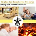 Thermal Power Fireplace Fan Heat Powered Wood Stove Fan for Fireplace