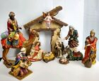 Kirkland Signature Series Nativity Creche 13 Pc Porcelain Large Figure 100 RARE