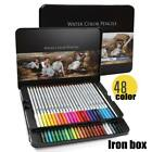 Professional Watercolor Pencils Wood Water Soluble Colored Art Drawing Pencil Us