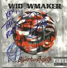 WIDOWMAKER Blood & Bullets CD 1992 Esquire Signed Autographed Dee Snider