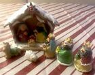 Peppermint Candy Ornaments christmas nativity set scene Tree Ornament Decor