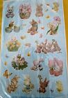 New Morehead 92 Easter Bunny Chick Spring Acid Free Stickers Scrapbooking Cards