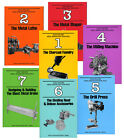 Build Your Own Metal Working Shop from Scrap 7 vols paperback set Gingery