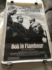 Bob le Flambeur Theatrical Movie Poster 27x41 Jean Pierre Melville