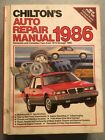 1986 Chilton's Auto Repair Manual.  American Cars From 1979 Thru 1986