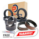 Fork Seals Dust Seals Bushes Kit for Suzuki TU250 X Volty 97-01 TU 250