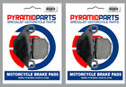 Front Brake Pads (2 Pairs) for ADLY 100 Thunderbike 2001