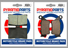 Borile B 500 CR, MT 2002 Front & Rear Brake Pads Full Set (2 Pairs)