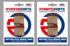 Daelim 125 History 2001 Front & Rear Brake Pads Full Set (2 Pairs)