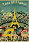 Cycling race poster retro vintage bicycle Bicycling Cyclist poster 10 MODELS A4