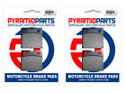 Front Brake Pads (2 Pairs) for Laverda SFC 500