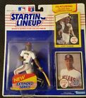 1990 Sandy Alomar Extended Starting Lineup Card/Statue/Display box/Mint