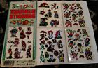 Vtg 80s Sparkle Twinkle Stickers Holographic Imperial Lot of 5