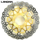 LQ Motor Stainles Steel Brake Rotors for KAWASAKI ZX-14R ZZR1400 GTR1400 06-14