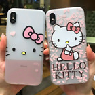 Hello Kitty Transparent Phone Case Cute Cartoon Cover For iPhone XS MAX 7 8 Xr 6