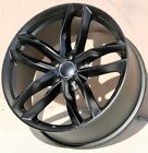 NEW SET OF FOUR 20x9 5x112 +33 SATIN BLACK AUDI A5 A6 A7 A8 RS4 RS5 S6 S7