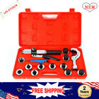New 11 Lever Hydraulic Expander Tubing Tube Expanding Tool Swaging Kit UPS