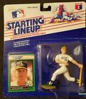 1989 Mark McGwire Starting lineup Figure/card mint  display box good