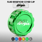 Rear Brake Fluid Reservoir Cover Cap for Kawasaki Ninja 250 300 400 ZX6R 10R 14R