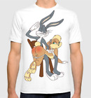 Bugs Bunny And Lola T Shirt Looney Tunes Tee T shirts M 3XL US Mens trend 2019