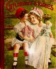 CHILDRENS STORIES Antique Victorian Easter Picture StoryTreasury Book