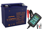 VMAX XCA160R12 ATV+15A CHGR BATTERY UPGRADE ARCTIC CAT 150Cc 250 2000 2010 12V