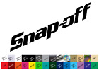 Snap-off Decal Sticker Snap-on Tools Tool Box Technician Mechanic Joke Spooff
