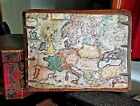 1631 Antique Map New Europe Exactissime by Henry Hondius w/ Sea Monsters + Ships