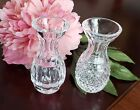 Waterford Crystal Set of 2 Posy Bud Vases - Minty