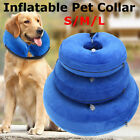 Dog Cat Inflatable Collar Soft E Collar Pet Puppy Medical Protection Head Cone