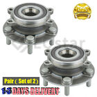 Pair2 Front Wheel Hub  Bearing Assembly Fits Mazda 6 CX 5 FWD  AWD