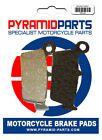 Hyosung XRX 400 2005 Rear Brake Pads
