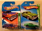 Hot Wheels Treasure Hunt Lot 4 Camaro Concept Shelby Cobra 69 Mustang Chevy