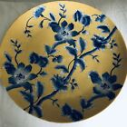 Fiona Chinese Blue White Yellow Charger Plate Platter Flower