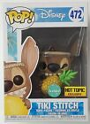 Funko POP EXCLUSIVE Scented Tiki Stitch #472 Disney Lilo & Stitch Vinyl Figure