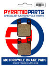 Rear Brake Pads for Motorhispania RYZ 50 Supermotard 2005