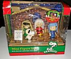 PEANUTS 65th ANNIVERSARY NATIVITY SCENE CHRISTMAS PAGEANT SET DEPT 56 NEW 2015