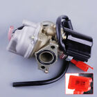 19mm Carburetor fit for Honda 2 Stroke 50cc Dio 50 ZX34 35 SYM Kymco Scooter