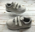 New Balance 813 Womens 75 D Wide Off White Hook  Loop Sneakers Shoes WW813HGY