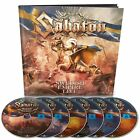 SABATON: Swedish Empire Live EXCLUSIVE CD+3-DVD+2-Blu-Ray EARBOOK Edition SEALED