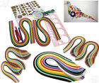 Quilling Paper Set Color Paper Drawing Material Package Beginners Tool Board New