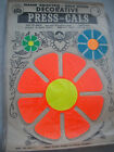 ORIGINAL VINTAGE FLOWER POWER STICKERS DECALS FOR CAR 1960S HIPPY LOVE PEACE