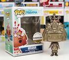 Funko Pop #417 GOLD Metallic Disney Moana MOANA Funhouse Custom Exclusive NIB