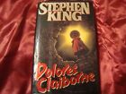 Dolores Claiborne by Stephen King 1993 1st Edition Hardcover w Dust Jacket SK12