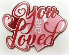YOU ARE SO LOVED TITLE PREMADE PAPER PIECING 3D DIE CUT MYTB KIRA
