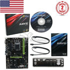SUPOX B250A BTC PRO Mining Motherboard Intel Chipset Support 12 PCI e Slots+Card